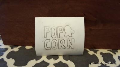 Popcorn Jar Design