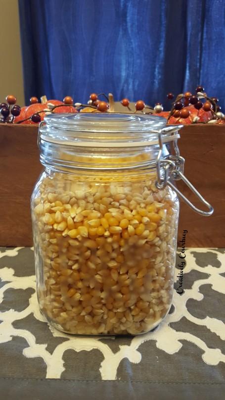 Popcorn Jar Finished