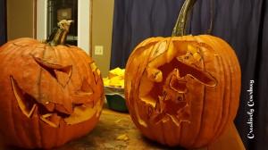 Pumpkins all carved