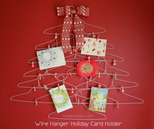 10 Wire-Hanger-Card-Holder