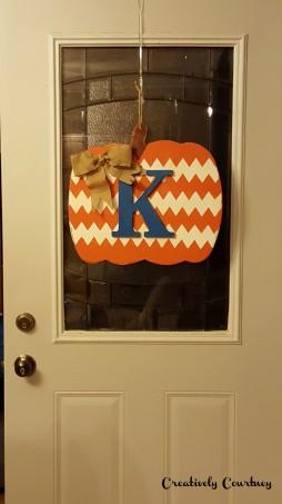Door Pumpkin -All Finished 2