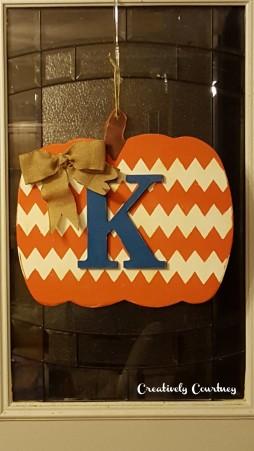 Door Pumpkin -All Finished