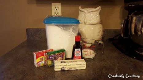 Icing Ingrediants