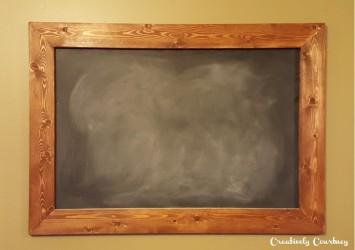 DIY Chalkboard 10