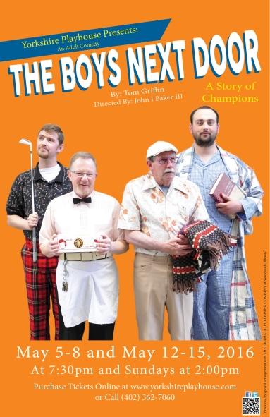 The Boys Next Door -Poster